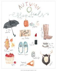Autumn Essentials Blog