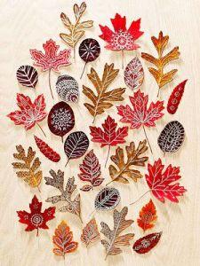 Crafts Autumn Leaves blog