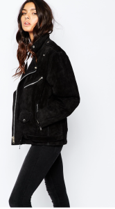 http://www.asos.com/Reclaimed-Vintage/Reclaimed-Vintage-Oversized-Real-Suede-Jacket-With-Belt-Detail/Prod/pgeproduct.aspx?iid=5695067&cid=2641&sh=0&pge=17&pgesize=36&sort=-1&clr=Black&totalstyles=1298&gridsize=4