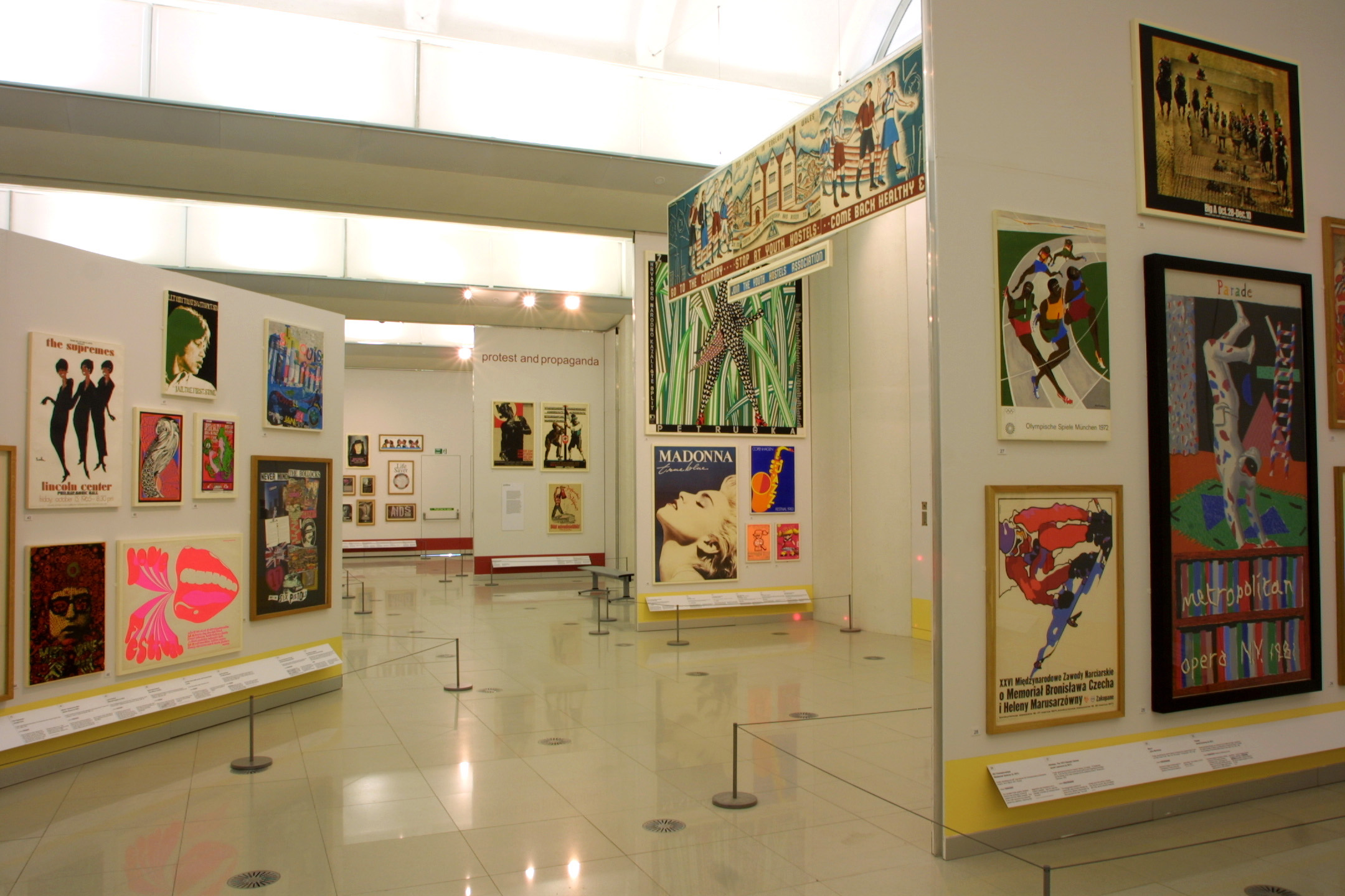 Exhibition at the Millennium Gallery